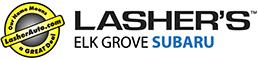 Lasher Elk Grove Subaru logo