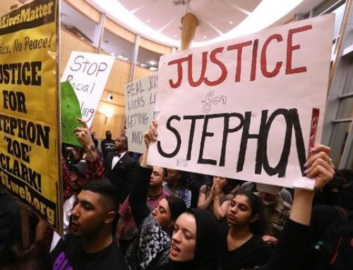 Black lives matter. Stephon Clark's life mattered.
