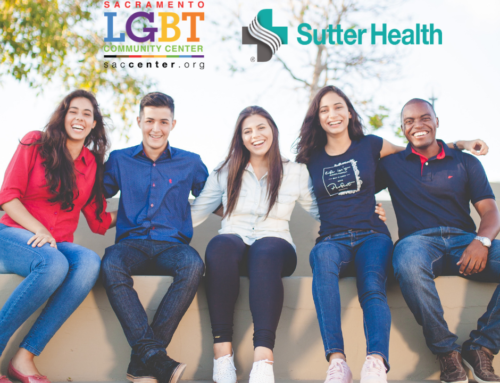 LGBT Center Announces Half-Million Dollar Investment from Sutter Health