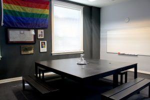 Founders room at the Sac LGBT Center