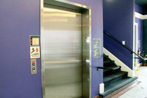 Elevator access at the Sac LGBT Center
